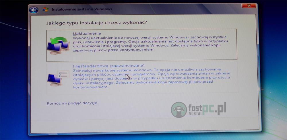 Instalacja Windows 7 krok po kroku