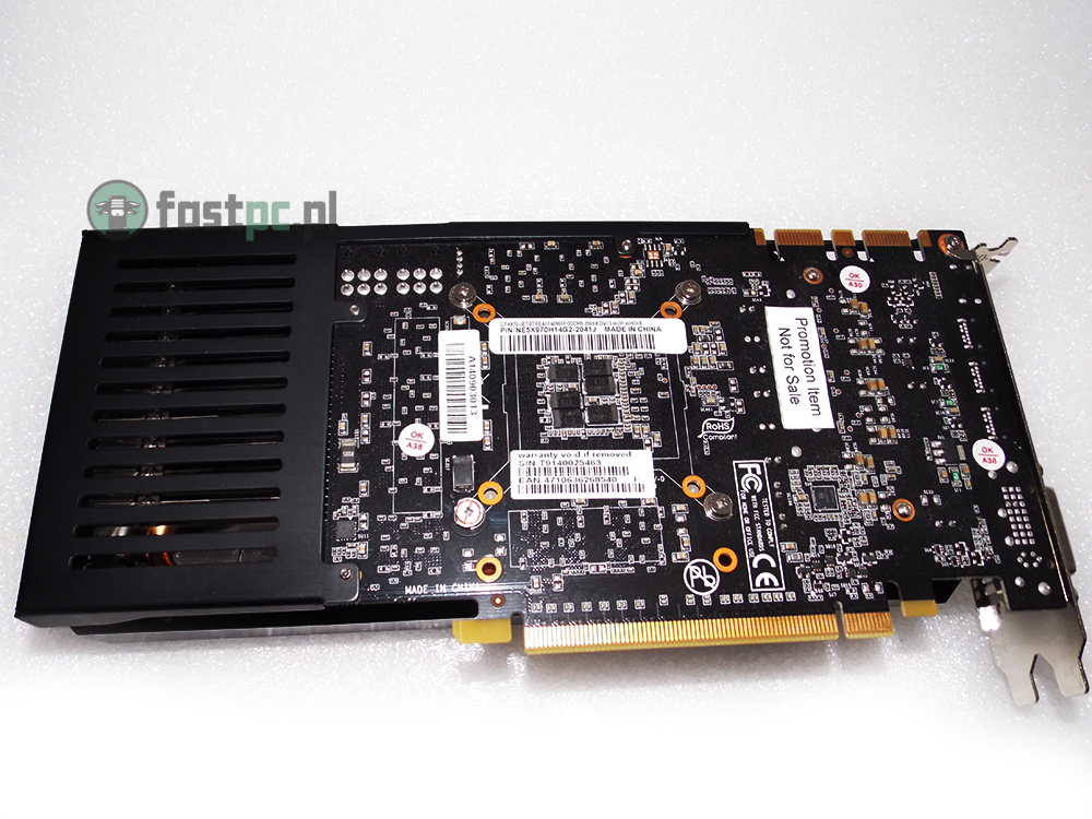 Geforce GTX 970 Palit JetStream PCB