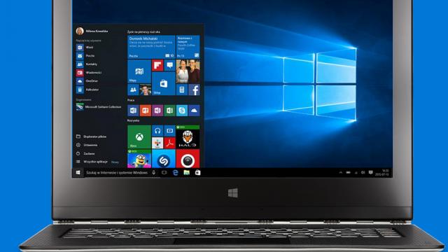 Windows 10 uaktualnienie