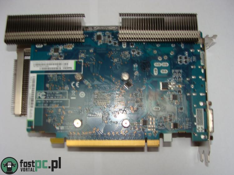 Sapphire Radeon HD 7750 Ultimate tył