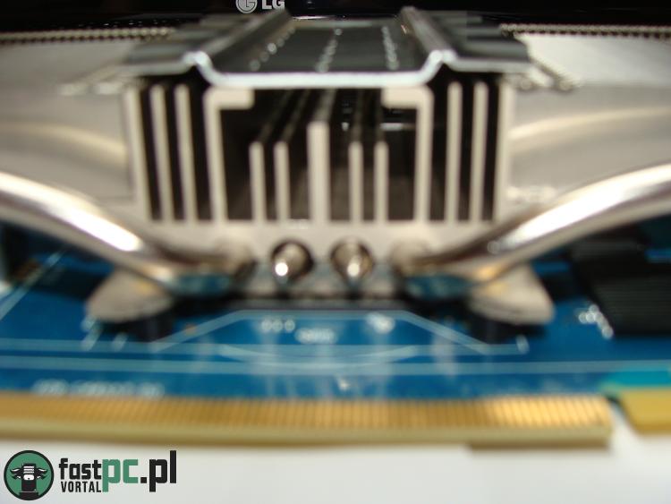 Sapphire Radeon HD 7750 Ultimate widok z dołu