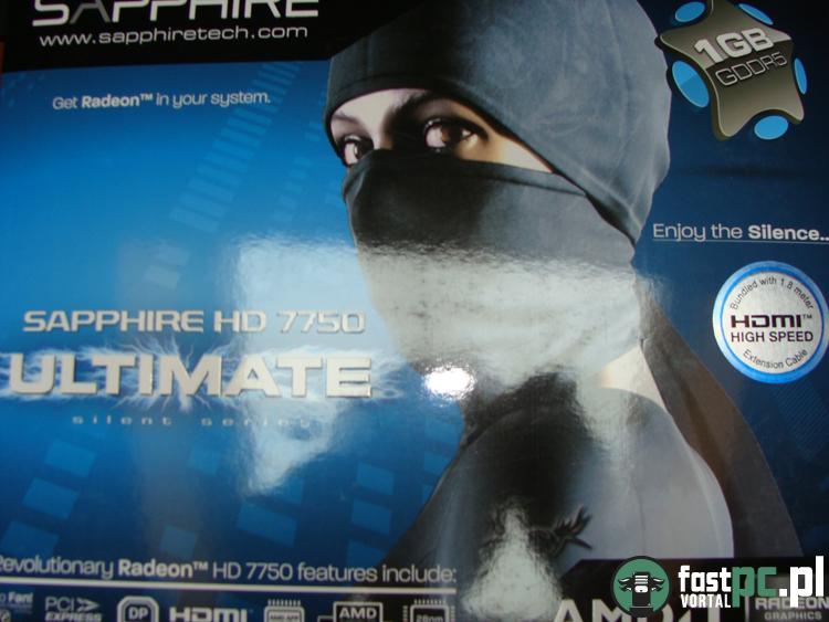 Pudełko HD 7750 Ultimate